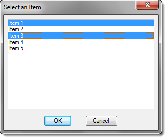 List Box Example