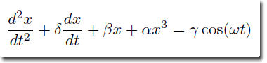 Duffing Equation 2